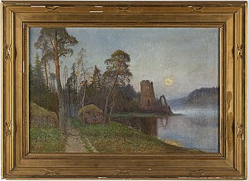 JOHAN KINDBORG, oil on canvas, signed and dated -05.