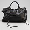 Balenciaga, a 'city' leather bag