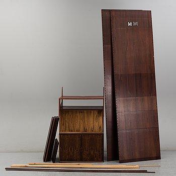 PAUL CADOVIUS, a book shelf, Denmark, mid 20th century.