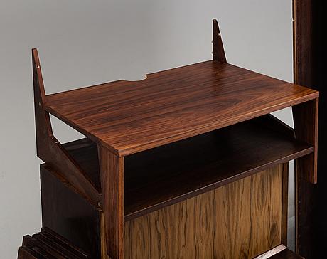 Paul cadovius, a book shelf, denmark, mid 20th century