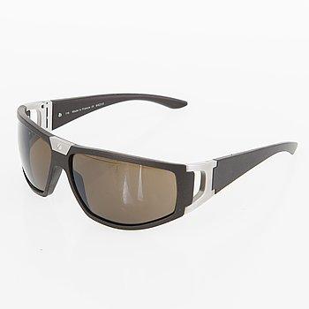 CARTIER Brown Santos Dumont Sport Sunglasses.