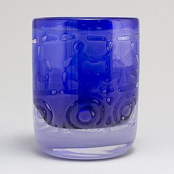 BENGT EDENFALK, a 'Thalatta' glass vase from Skruf.