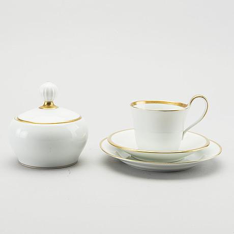 Kaffeservis, 25 dlr, bing & gröndahl 1900 talets andra hälft porslin