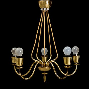 a mid- 20-th century ceiling lamp.