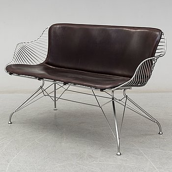 A 'Wire lounge' sofa by Overgaard & Dyrman, 21st Centruy.