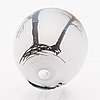 Ella varvio, a glass sculpture, signed ella varvio 2014.