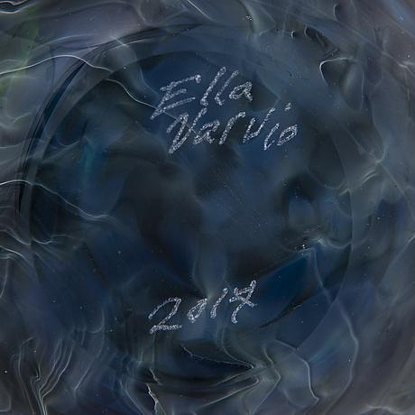 Ella varvio, vas/ glasskulptur, signerad ella varvio 2017.