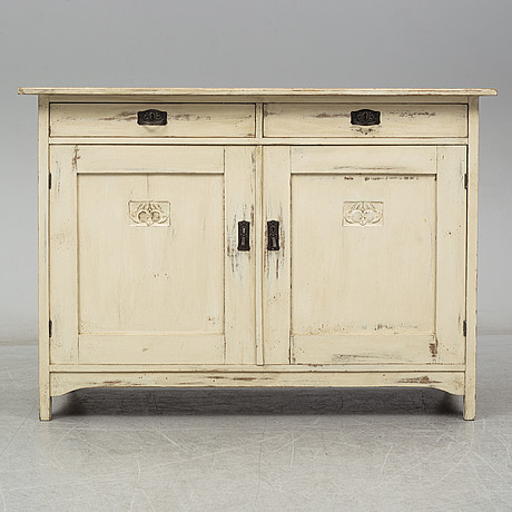An early 20th century cupboard