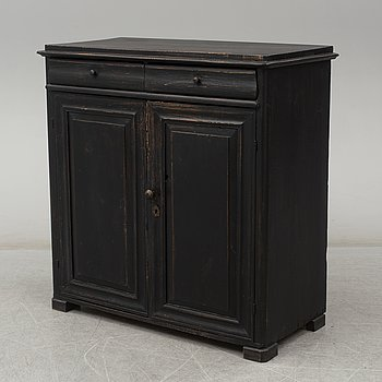 A Swedish cupboard, second half of the 19th century.