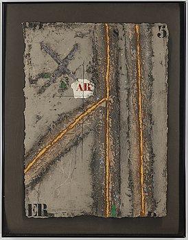 JAMES COIGNARD, carborundum etsning, signerad och numrerad 14/75.