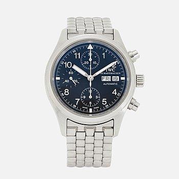 IWC, Schaffhausen, Der Fliegerchronograph, chronograph, wristwatch, 39 mm.