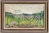 Nils sÖderberg, olja på pannå, signerad och daterad  48