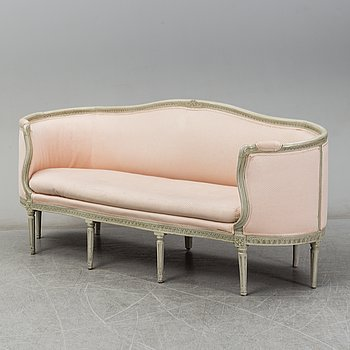 A Swedish Gustavian sofa, ca 1800.