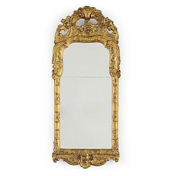 A mid 20th century Rococo style mirror.