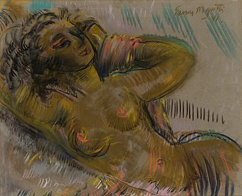 EEMU MYNTTI, pastel, signed and dated -41.
