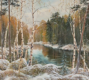 ISMO PYYKKÖ, oil on canvas, signed and dated -79.