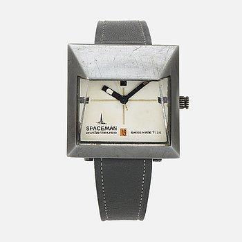SPACEMAN, Audacieuse, wristwatch, 38 x 38.5 mm.