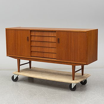 A Swedish teak sideboard, 1960's.