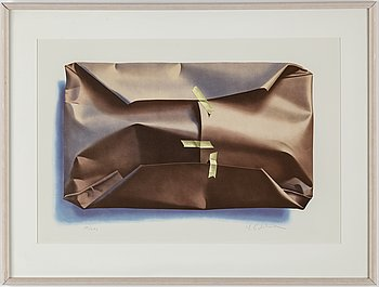 YRJÖ EDELMANN, lithograph in colours, signed 50/290.