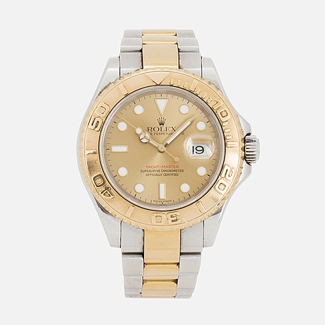Rolex, oyster perpetual date, yacht master, chronometer, wristwatch, 40 mm