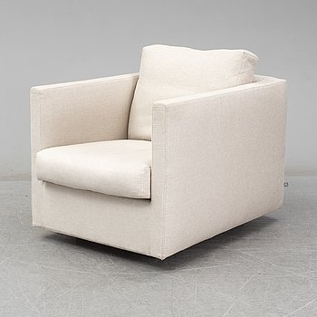 JENS JUUL EILERSEN, A 'Box' easy chair from Eilersen, Denmark.