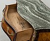 An early 20th century rococo style chest of drawers