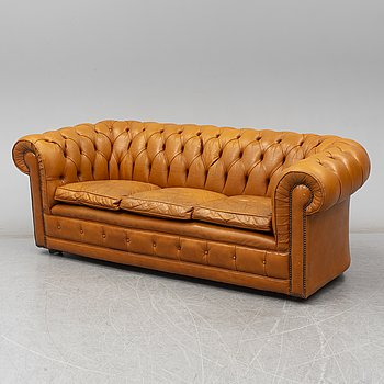 A second half of the 20th Century Chesterfield sofa.