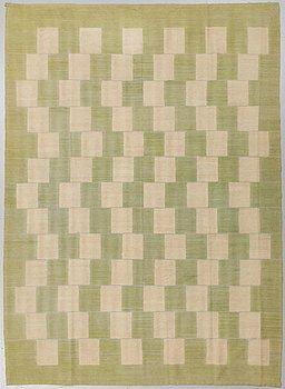 A CARPET, flat weave, 277 x 203 cm.