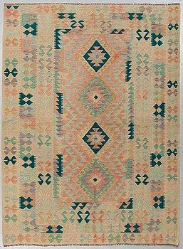 A CARPET, Kilim, ca 236 x 177 cm.