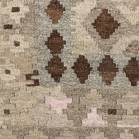 A rug, kilim, ca 200 x 152 cm.