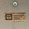 """Peter celsing, vägglampor, two, """"band"""",  falkenberg belysning"""