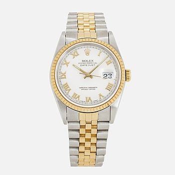 ROLEX, Oyster Perpetual, Datejust, armbandsur, 36 mm.