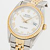 Rolex, oyster perpetual, datejust, wristwatch, 36 mm