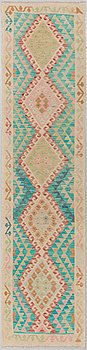 A kilim runner, around ca 290 x 72 cm.