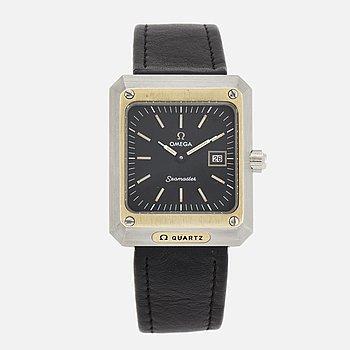 OMEGA, Seamaster, wristwatch, 30 x 35,5 mm.