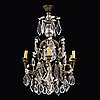 A mid 20th century rococo style ceiling light