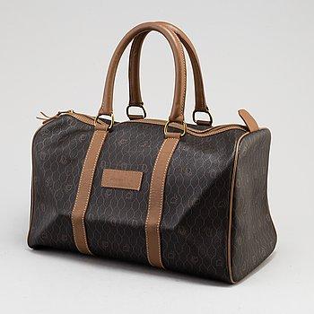 CHRISTIAN DIOR, a monogram canvas bag.