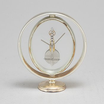 JAEGER-LE COULTRE, table clock, late 20th Century.