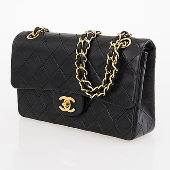 CHANEL Small Double Flap Bag.