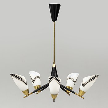 A 1950s ceiling lamp.