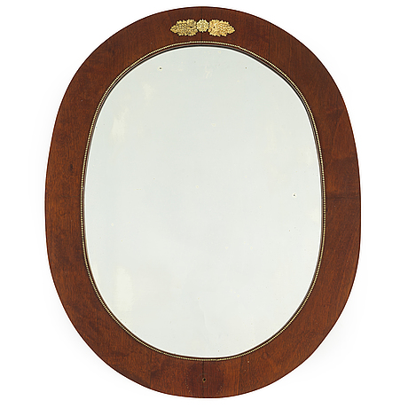 A swedish empire mirror, first half of the 19th century