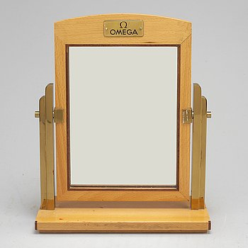 A late 20th century table mirror.