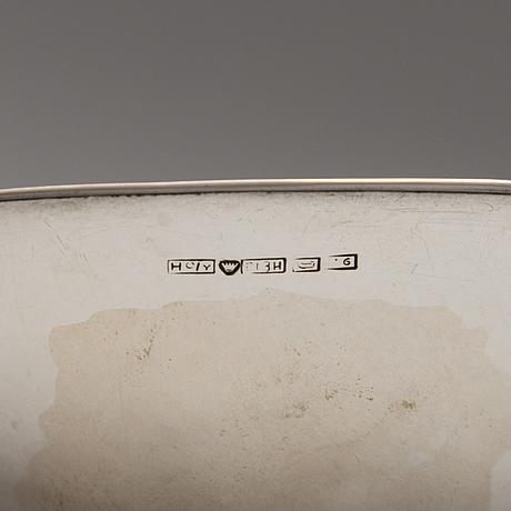 Tapio wirkkala, a set of four silver bowls, hopeatehdas oy, helsinki 1954 57