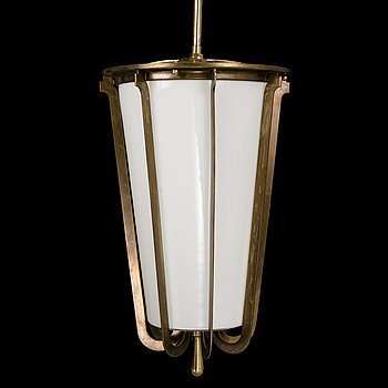 PAAVO TYNELL, a mid 20th century pendant light for Taito.