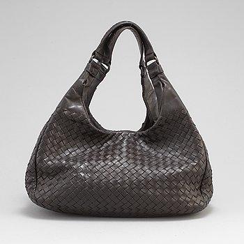 A Bottega Veneta leather bag.