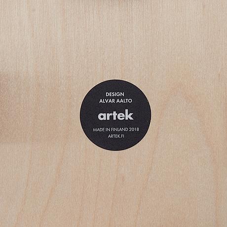"""Alvar aalto, pallar, ett par, """"e60"""", artek."""