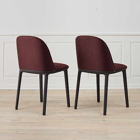 A set of 6 'softshell chairs' by ronan & erwan bouroullec for vitra.