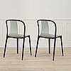 Four 'belleville' chairs by ronan & erwan bouroullec, vitra