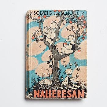 """BOK. Tove Janson & Solveig von Schoultz. """"Nalleresan"""" ."""