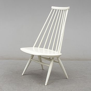 ILMARI TAPIOVAARA, a painted 'Mademoiselle' chair from Edsbyverken, 1960.